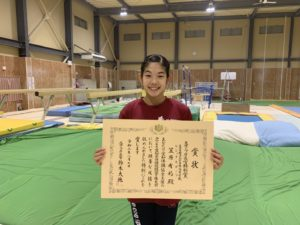 スポーツ庁長官特別賞をいただきました。