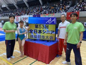 第53回全日本シニア・マスターズ体操競技選手権大会 報告